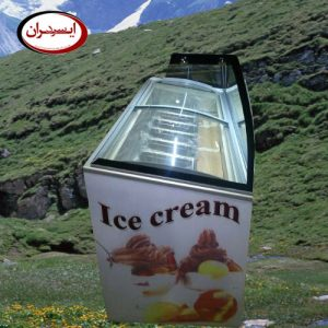 تاپینگ بستنی میوه ای
