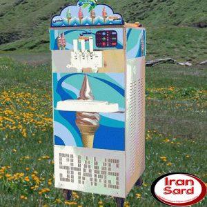 دستگاه بستنی قیفی