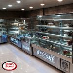 یخچال مکعبی شیرینی فروشی