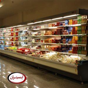 یخچال روباز فروشگاهی