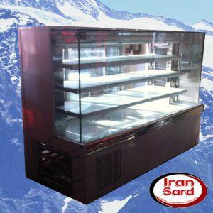یخچال مکعبی ویترینی