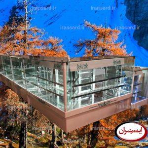 یخچال قنادی مدل جزیره