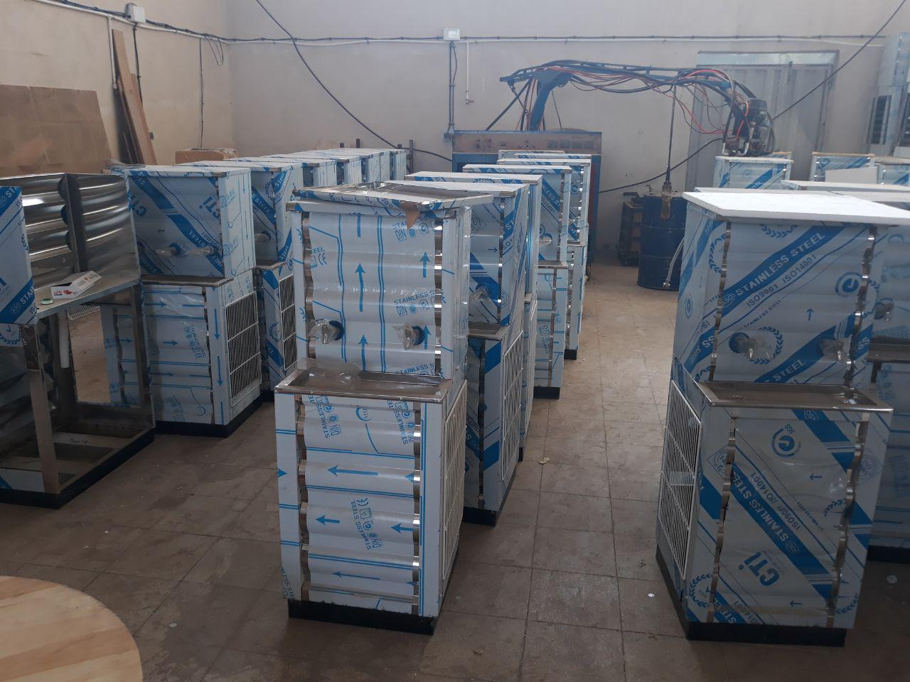 فروش ویژه آب سرد کن صنعتی استیل