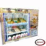 یخچال آکواریومی مرغ فروشی