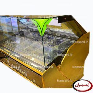 تاپینگ بستنی استیل طلایی برند نارسیس
