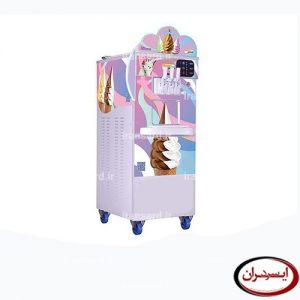 ماشین بستنی ساز صنعتی قیفی شمس مدل سوپر سناتور