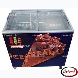 یخچال بستنی صندوقی ۳۰۰ لیتری درب کشویی