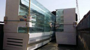 تحویل یخچال مکعبی مشتری از رامهرمز